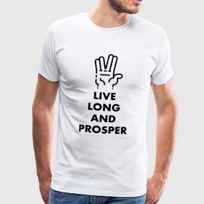 Live long and prosper - Männer Premium T-Shirt