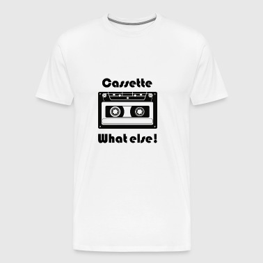 Cassette old skool design - Men's Premium T-Shirt