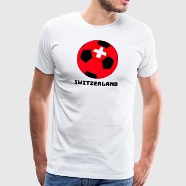 Switzerland Soccer Switzerland Gift Sport T-Shirt - Men's Premium T-Shirt