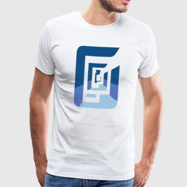 abstract - Mannen Premium T-shirt
