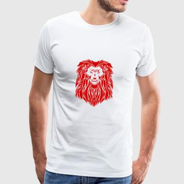red lion - Premium-T-shirt herr
