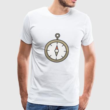 Fancy Clock Design # sa2 - Mannen Premium T-shirt