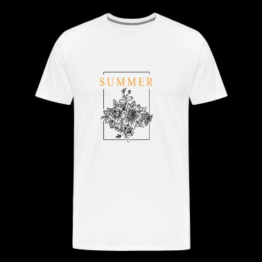 Summer bouquet - Men's Premium T-Shirt