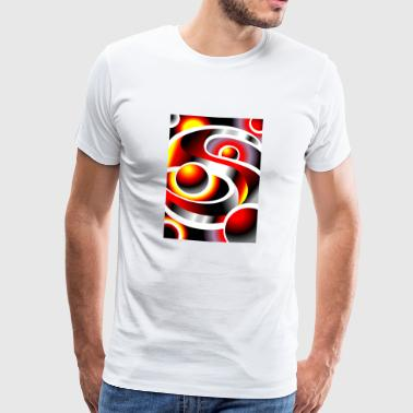 SOLARMOON Arte Abstracto #05 - Men's Premium T-Shirt