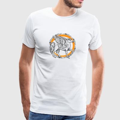 PEGASUS COAT OF ARMS - Men's Premium T-Shirt