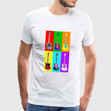 Pop Art 01 - Herre premium T-shirt