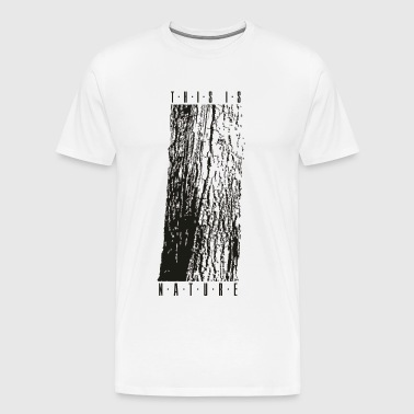 NATURE 1 - T-shirt Premium Homme