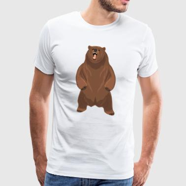Grizzly bear - Men's Premium T-Shirt