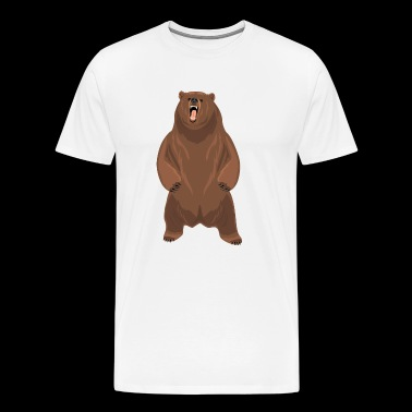 Grizzly beer - Mannen Premium T-shirt