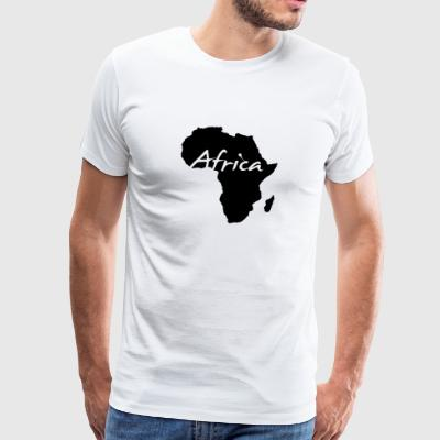 Afrika Kontinent Safari Roots of Reggae Music wild - Männer Premium T-Shirt