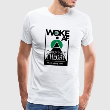 Woke AF Conspiracy Theory - Men's Premium T-Shirt