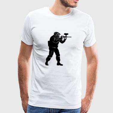 gotcha paintball3 - Premium-T-shirt herr