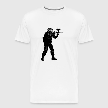 Gotcha paintball3 - T-shirt Premium Homme