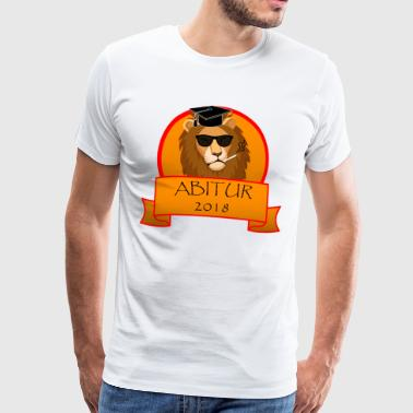 ABITURE 2018 - Men's Premium T-Shirt