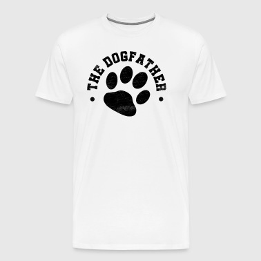 The Dogfather, dog owner, gift - Men's Premium T-Shirt