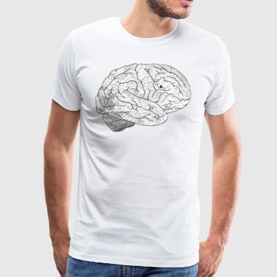 EXPLAIN THE BRAIN - Männer Premium T-Shirt