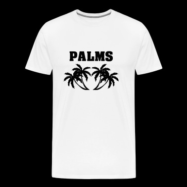 PALM PALMS BEACH PALMS PALM TREE GIFT IDEA - Men's Premium T-Shirt