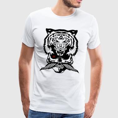 Tee shirts Tete De Tigre à commander en ligne