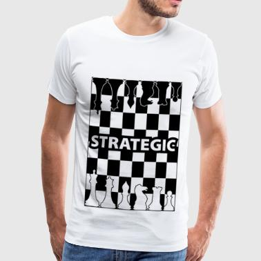 strategie blak - Mannen Premium T-shirt