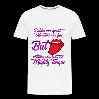 Mighty Tongue - Men's Premium T-Shirt