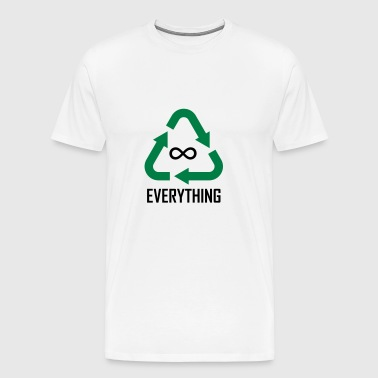 Recyclable Resin Identification Code ∞ Everything - Men's Premium T-Shirt