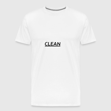 Clean - Men's Premium T-Shirt