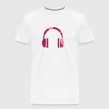 HEADPHONES - CAMO / CAMOUFLAGE - Men's Premium T-Shirt