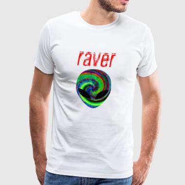raver xx - Men's Premium T-Shirt