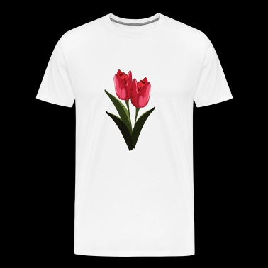 tulips - Men's Premium T-Shirt