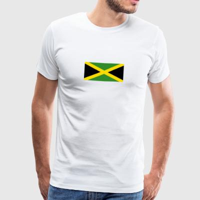 National Flag Of Jamaica - Men's Premium T-Shirt