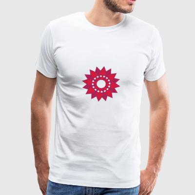 Christmas star - Men's Premium T-Shirt