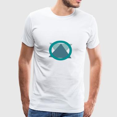 Triangle_in_Circle - T-shirt Premium Homme