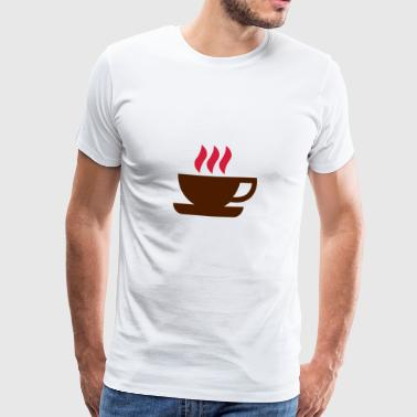 Hot Cup Of Coffee - Men's Premium T-Shirt