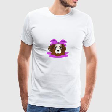 Pink puppy - Men's Premium T-Shirt