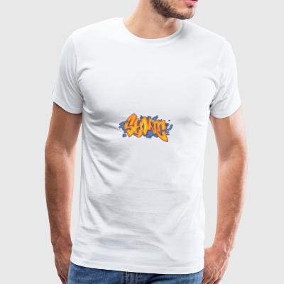 steen graffiti - Mannen Premium T-shirt