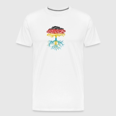 German with Kazakhstan descent - Men's Premium T-Shirt