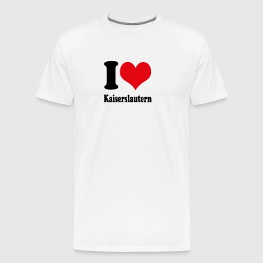 I love Kaiserslautern - Men's Premium T-Shirt