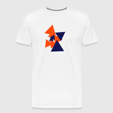 Triangles SARVA - T-shirt Premium Homme