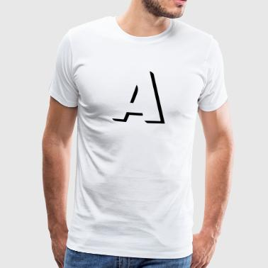 A is for anarchy - Camiseta premium hombre