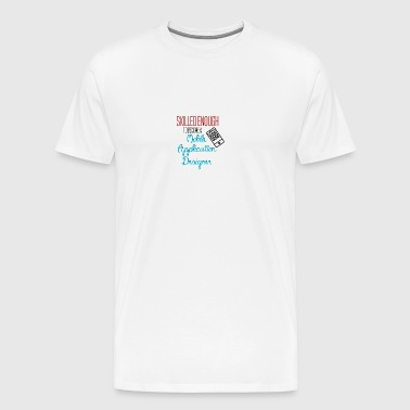 Mobile Application Designer - Mannen Premium T-shirt