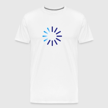 Progress Indicator For A Download - Men's Premium T-Shirt