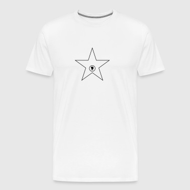 Hollywood Walk of Fame Stern - Männer Premium T-Shirt
