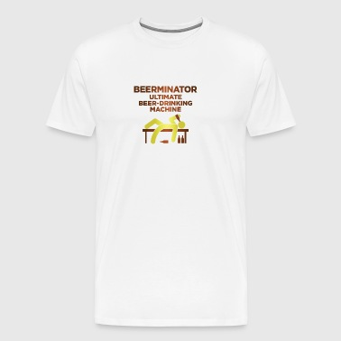 Berminator. Ultimate Drinking Machine! - Herre premium T-shirt
