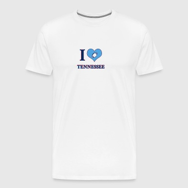 J'adore Tennessee - T-shirt Premium Homme