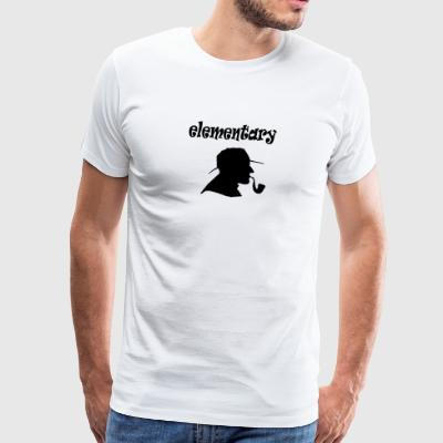 elementair - Mannen Premium T-shirt