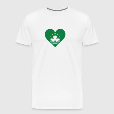 A Heart For Macau - Men's Premium T-Shirt
