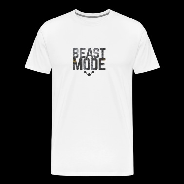 Bodybuilding Motviation beastmode - Men's Premium T-Shirt