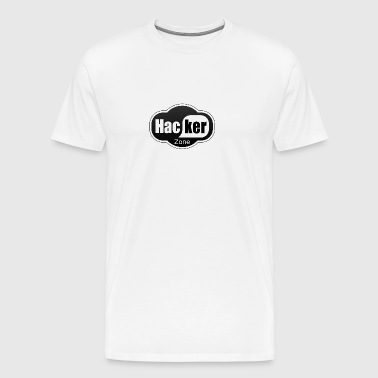 Hacker Logo - Men's Premium T-Shirt