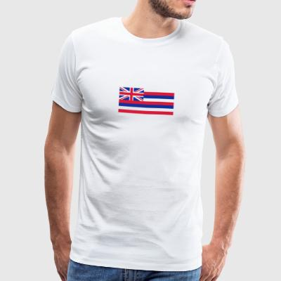 Drapeau national d'Hawaï - T-shirt Premium Homme