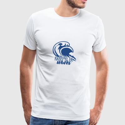Surfer / Surf: Raised By The Waves - Camiseta premium hombre